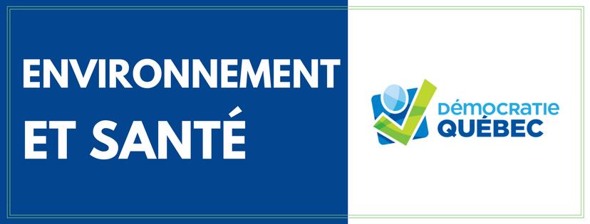 Environnement et santé - ville de Québec