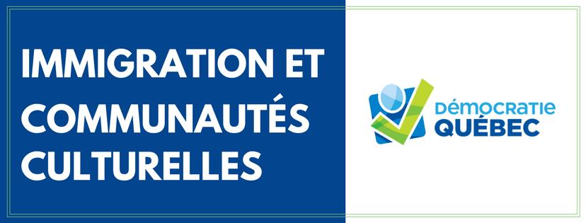 immigrations et communautés culturelles - ville de Québec