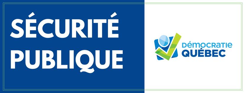 sécurité publique - ville de Québec