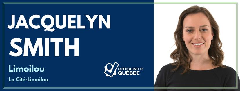 Jacquelyn Smith - Candidate de Démocratie Québec aux élections municipales de Québec dans le district Limoilou - La Cité-Limoilou
